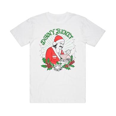 Donny Benet Second Christmas Dinner / White T-shirt