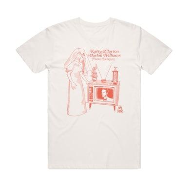 Kacy & Clayton and Marlon Williams / 'Plastic Bouquet' Natural T-shirt