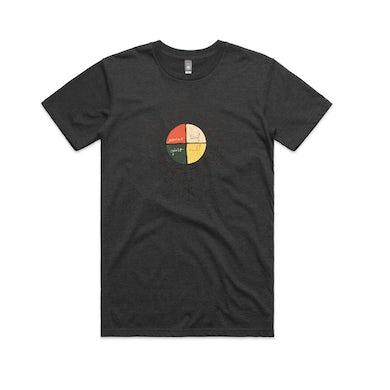 Xavier Rudd Spirit Bird / Asphalt Marle T-Shirt