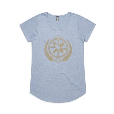Xavier Rudd United Nations / Womens Blue T-Shirt