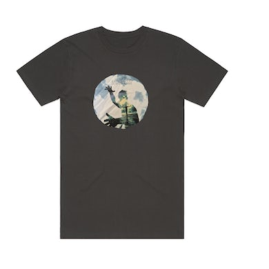 Xavier Rudd Live in Netherlands / Charcoal T-Shirt