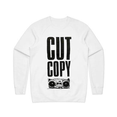 Cut Copy Boombox / White Jumper