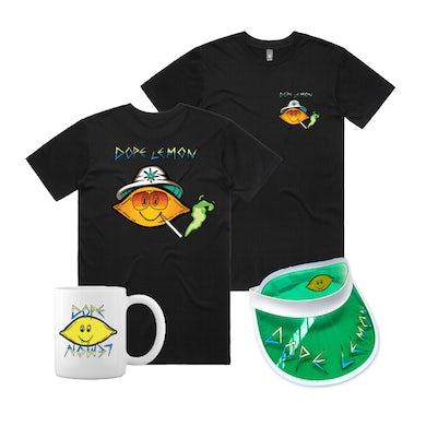 Dope Lemon Fear and Loathing Tee / Mug / Visor Bundle