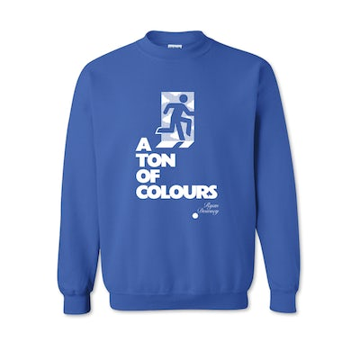 Ryan Downey A Ton Of Colours / Blue Jumper