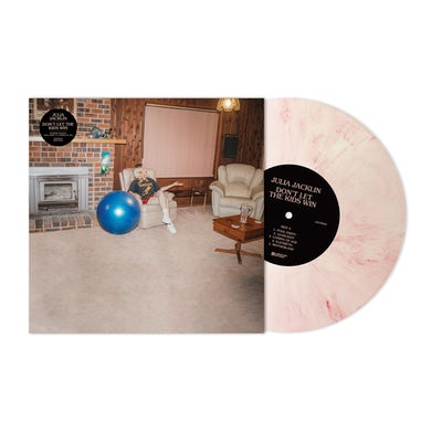 """'Don't Let The Kids Win' Marble Pink 12"""" Vinyl"""