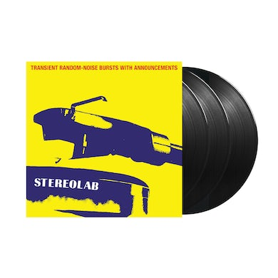 Stereolab / Transient Random-Noise Bursts With Announcements (Expanded Edition) 3xLP vinyl