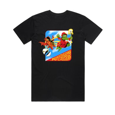 King Gizzard & The Lizard Wizard Micro Gator / Black T-shirt