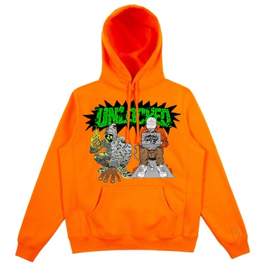 & Kenny Beats - Unlocked 1.5 Safety Orange Hoodie
