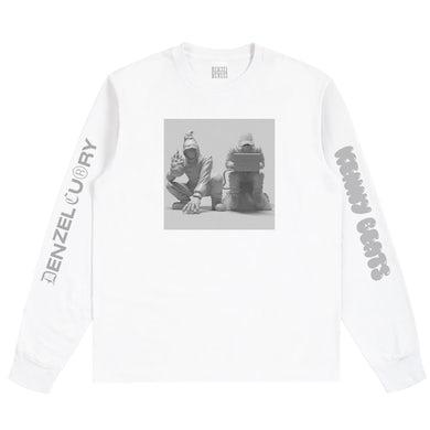 Denzel Curry & Kenny Beats - Unlocked 1.5 White Long Sleeve ***PRE-ORDER***
