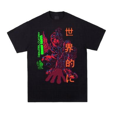 Denzel Curry & Kenny Beats - Unlocked 1.5 Black T-Shirt ***PRE-ORDER***