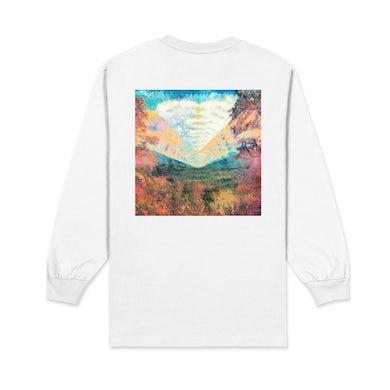 Tame Impala Inner Long / White Long Sleeve T-shirt