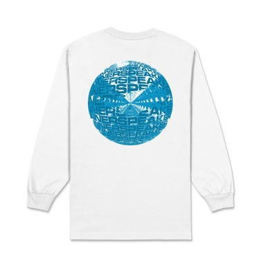 Tame Impala Inner Clouds / White Long Sleeve T-shirt