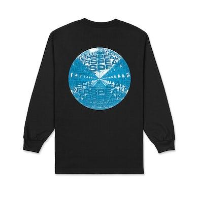 Tame Impala Inner Clouds / Black Long Sleeve T-shirt