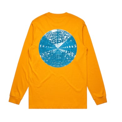 Tame Impala Inner Clouds / Yellow Long Sleeve T-shirt