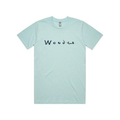 Woodes Logo / Aqua T-Shirt