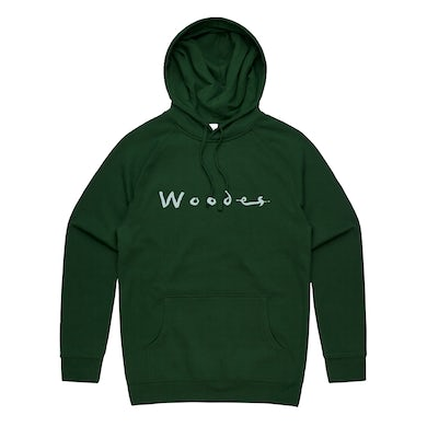 Woodes Crystal Ball / Forest Green Printed Hoodie