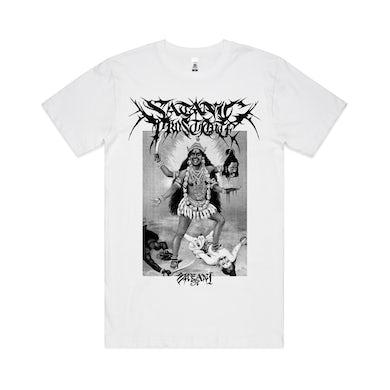 Satanic Prostitute / White T-Shirt