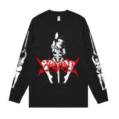 Barbarian / Black Long Sleeve T-Shirt
