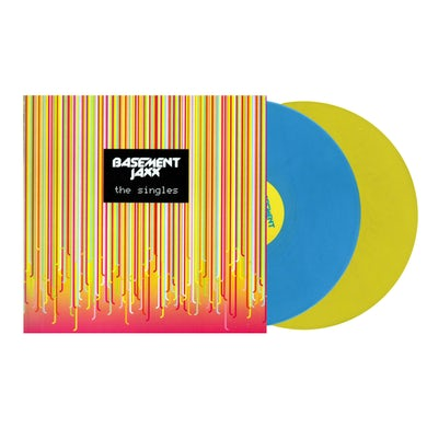 Basement Jaxx / The Singles 2xLP vinyl