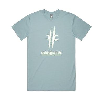 Children Collide Cloud Tee / Pale Blue T-shirt