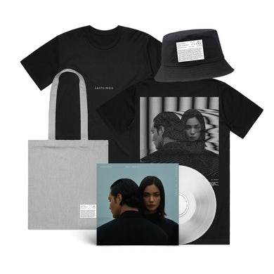 First Contact Tee & Deluxe Vinyl & Bucket Hat & Tote Bundle