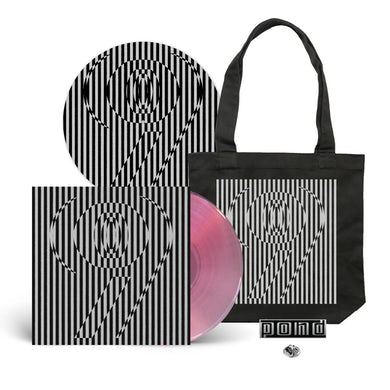 9 / Lunettes Pink Vinyl + Slipmat + Tote with Pin Bundle ***PRE-ORDER***