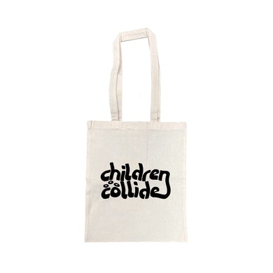 Children Collide Time Itself / Natural Tote Bag