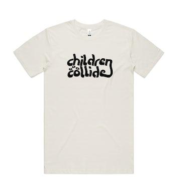 Children Collide Time Itself / Natural Organic T-Shirt