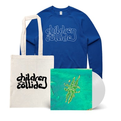 Children Collide Time Itself / Vinyl with Crew Bundle + Free Tote ***PRE-ORDER***