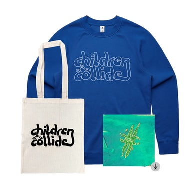 Children Collide Time Itself / Digital Download with Crew Bundle + Free Tote ***PRE-ORDER***
