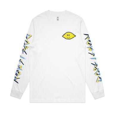 Dope Lemon Lemon Fang / White Long Sleeve