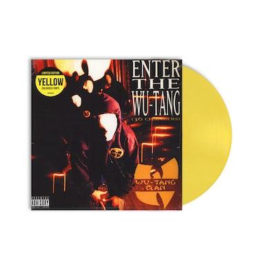 Classics Wu-Tang Clan / 36 Chambers LP Yellow Vinyl