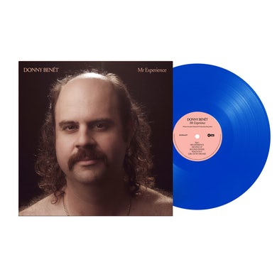"""Donny Benet Mr Experience / Opaque Blue Limited Edition 12""""Vinyl"""