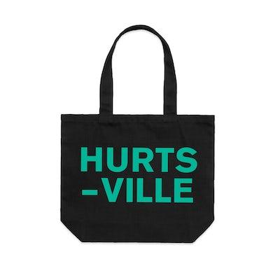 Hurtsville / Black Tote Bag