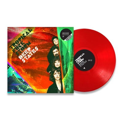 "Tropical Fuck Storm / Deep States Transparent Red 12"" Vinyl"
