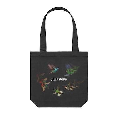 Julia Stone Sixty Summers / Black Tote Bag