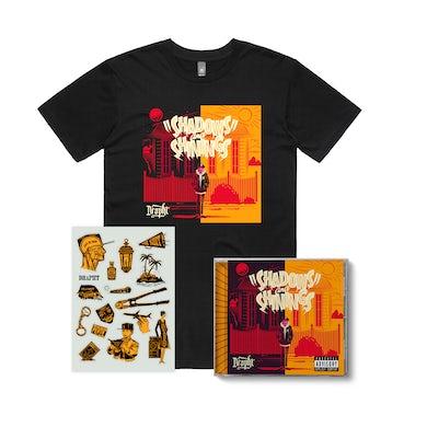 Drapht Shadows and Shinings T-Shirt CD Bundle ***PRE-ORDER***