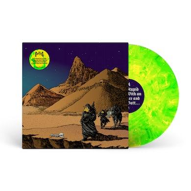 "'I'm A Stupid Moron' Yellow/Green Marble 12"" Vinyl ***PRE-ORDER***"