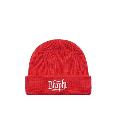 Drapht / Red Beanie  ***PRE-ORDER***