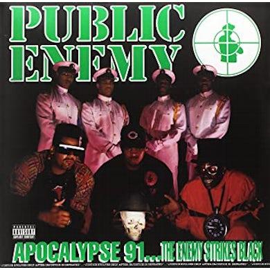Classics Public Enemy / Apocalypse 91... The Enemy Strikes Black 2xLP Green Vinyl