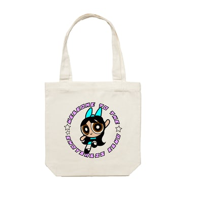 Chrysalis Club / Cream Tote Bag