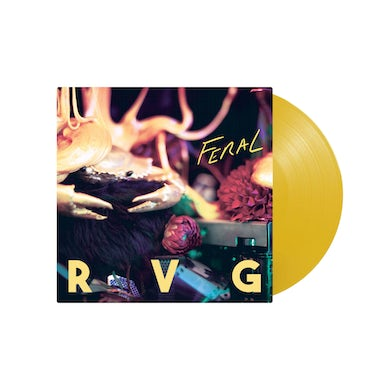 """Feral / Limited Edition Yellow Vinyl / LP 12"""""""