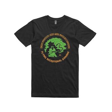 King Gizzard & The Lizard Wizard Flying Microtonal Banana /  Black T-shirt