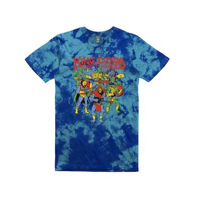 King Gizzard & The Lizard Wizard Masters / Tie Dye Blue T-shirt