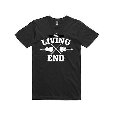 The Living End Guitar /  Black T-shirt