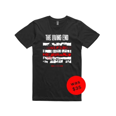The Living End The Retrospective Tour Adelaide / Black t-shirt