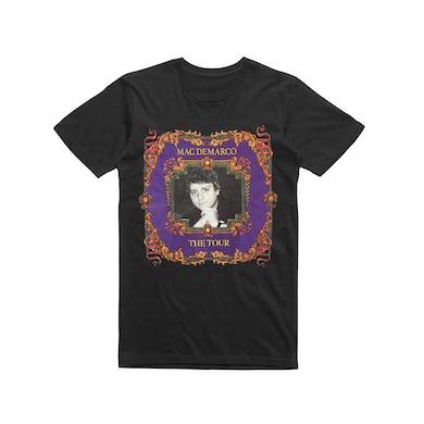 Mac Demarco Elton  / Black T-shirt