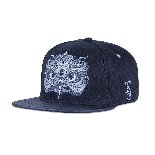 Opiuo Owl / Black Snapback Cap