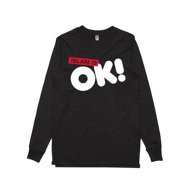 Schwipe Islam is OK! / Black Longsleeve T-shirt