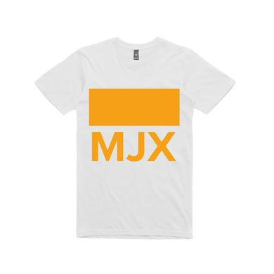 Siberia Records Midnight Juggernauts MJX / White T-shirt